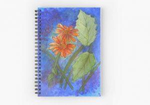 Floral Challenge notebook