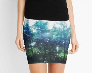 Magic Forest Pencil Skirt