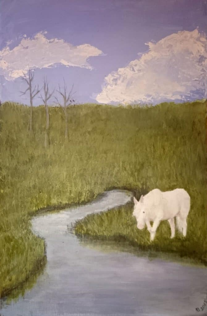 Brook Horse by Linda Ursin