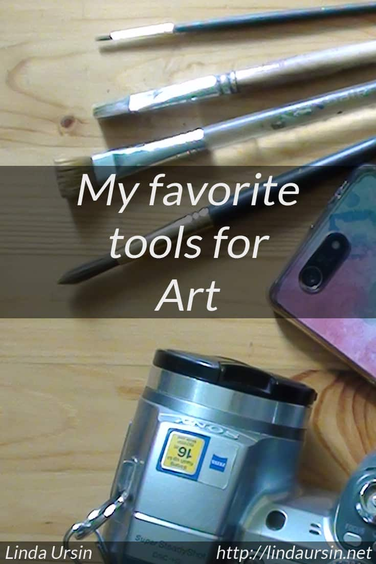 My favorite tools for art