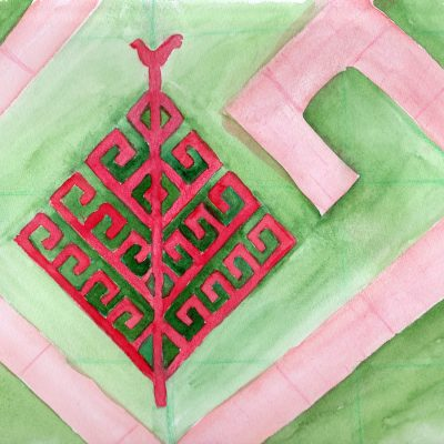 100 Hellige Symboler - Yggdrasil