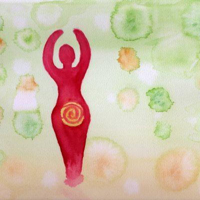 100 Hellige Symboler - Spiral-gudinne
