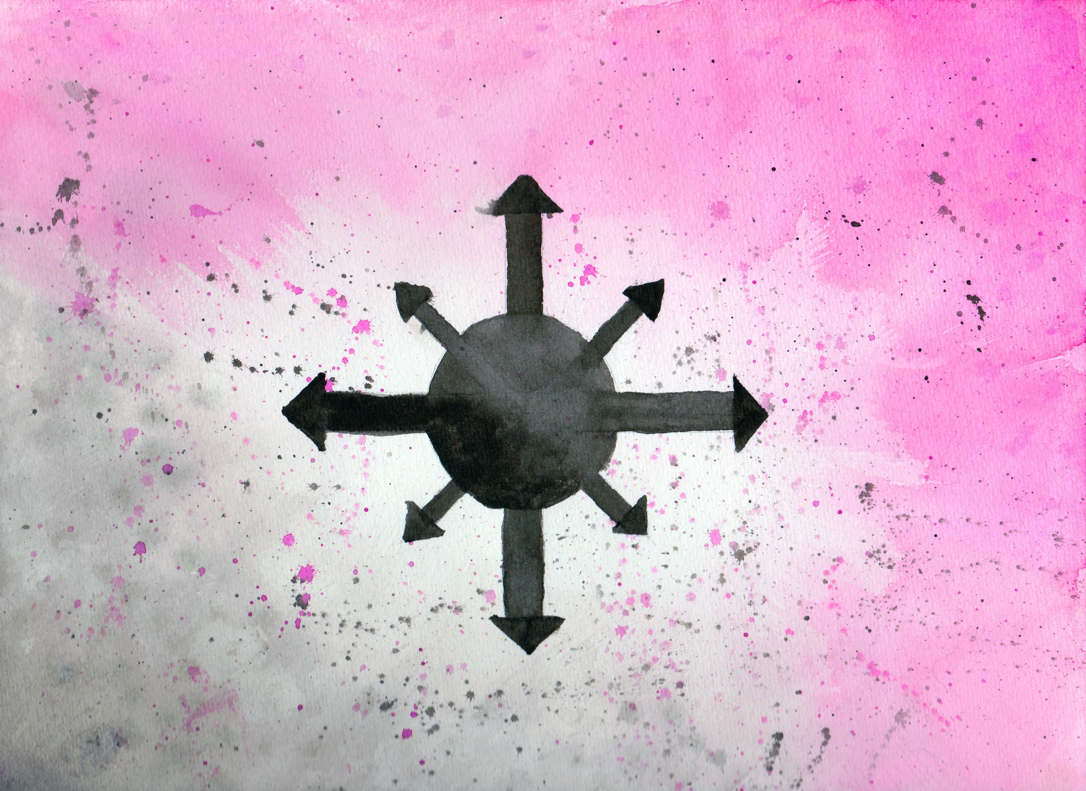 100 Hellige Symboler - Kaos-stjernen