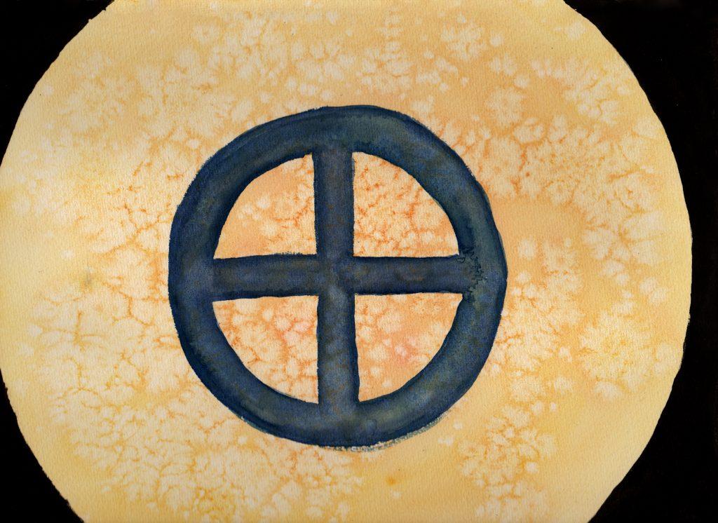 100 Hellige Symboler - Solkors
