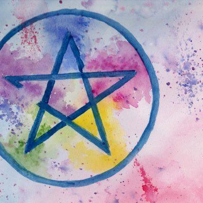 100 Hellige Symboler - Pentagram