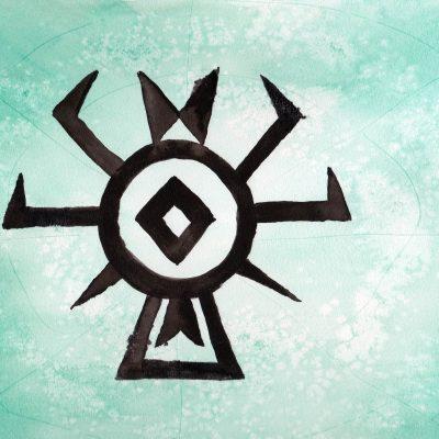 100 Hellige Symboler - Osage Edderkopp