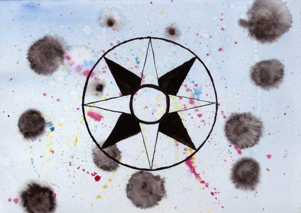 100 Hellige Symboler - Ishtars Stjerneskive