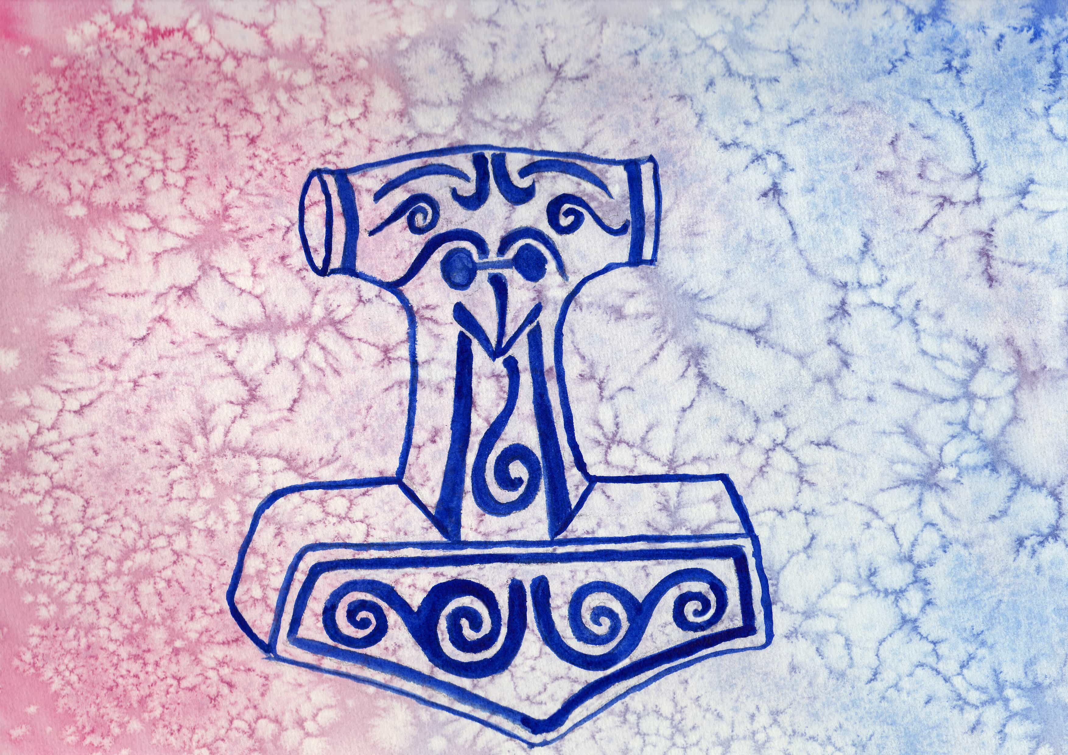 100 Hellige Symboler - Tors Hammer