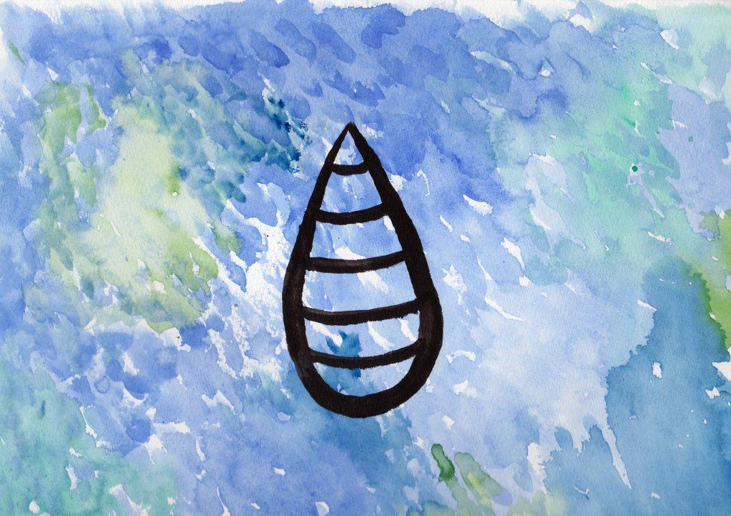 100 Hellige Symboler - Regndråpe