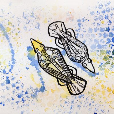 Hugin & Munin -100 Hellige Symboler av Linda Ursin