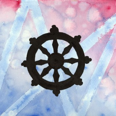 Dharmas Hjul - 100 Hellige Symboler av Linda Ursin