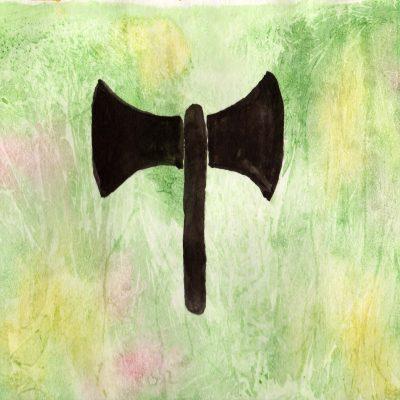 Labrys - 100 Hellige Symboler av Linda Ursin