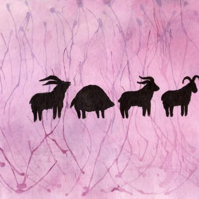 Dyreprosesjon - 100 Hellige Symboler av Linda Ursin