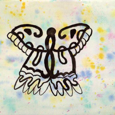 100 Hellige Symboler - Sommerfugl