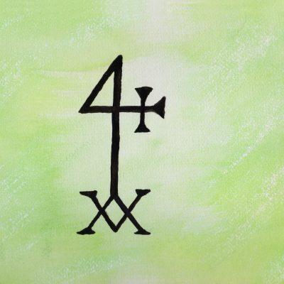 100 Hellige Symboler - Hermetisk Kors