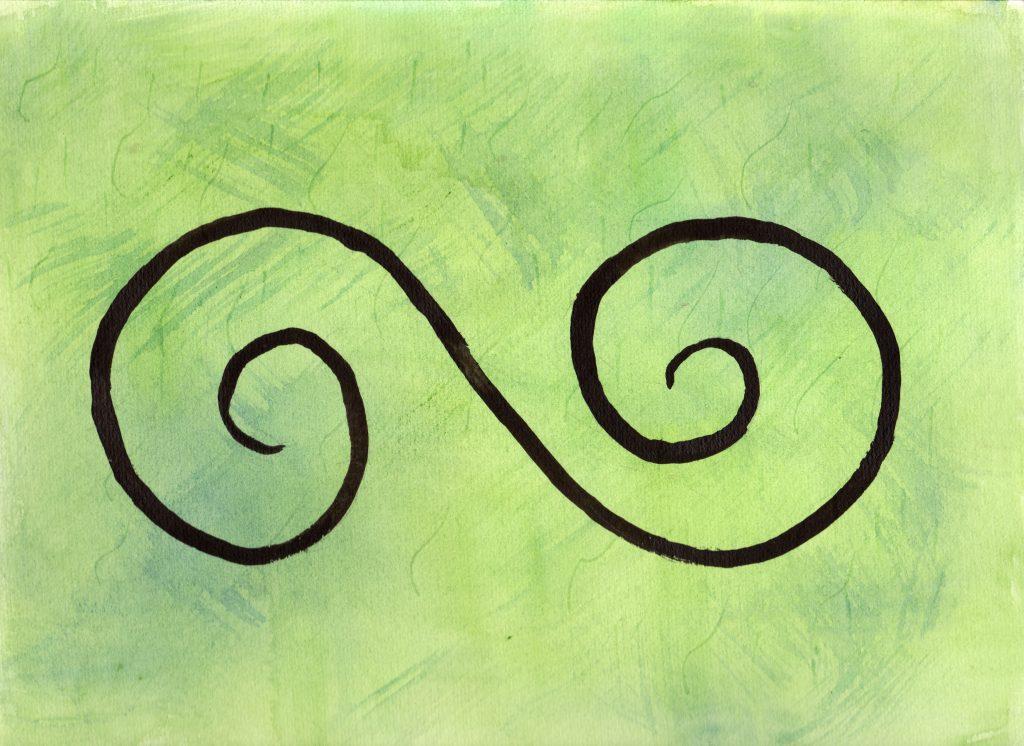 100 Hellige Symboler - Dobbelspiral