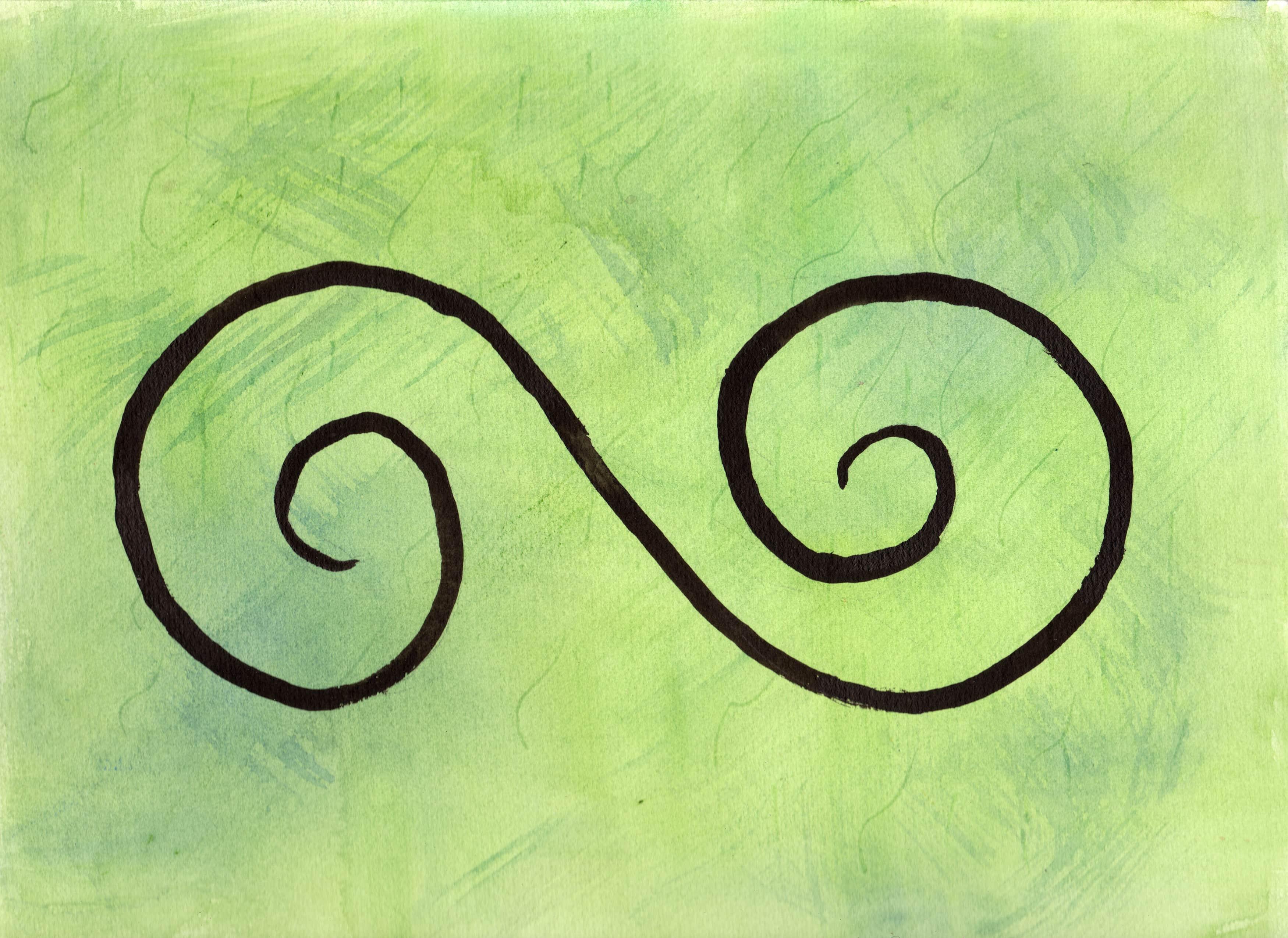100 Hellige Symboler - Dobbeltspiral