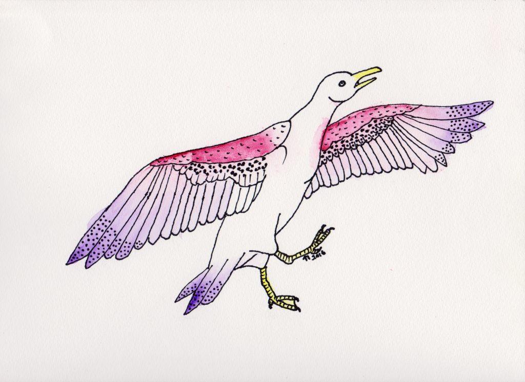 Strange Birds - 9 - Stilfull Flekkete Måke