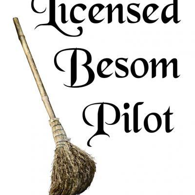 Licensed besom pilot - Lisensiert kostpilot