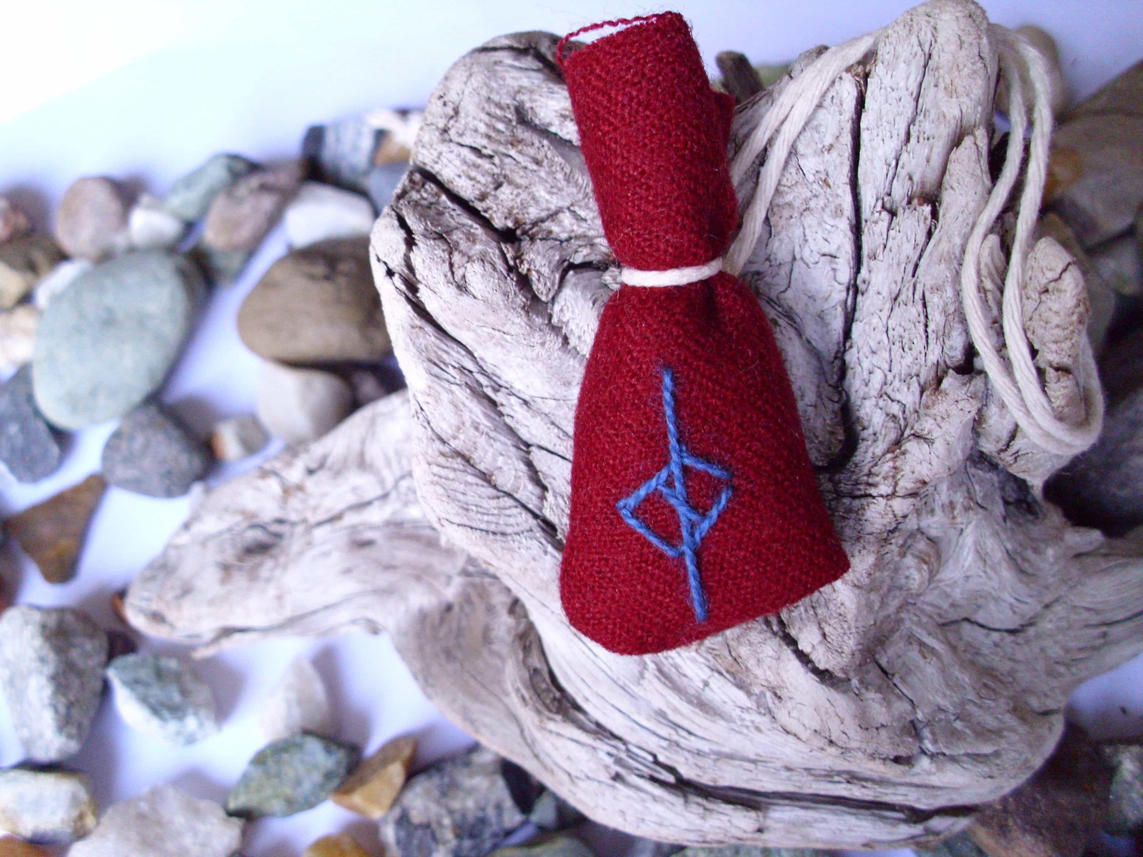 Amulet bag for discipline - Disiplin