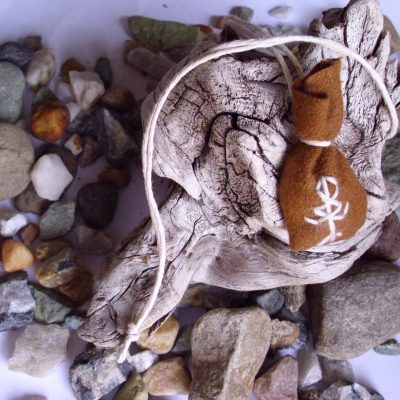 Amulet bag for fertility - fruktbarhet