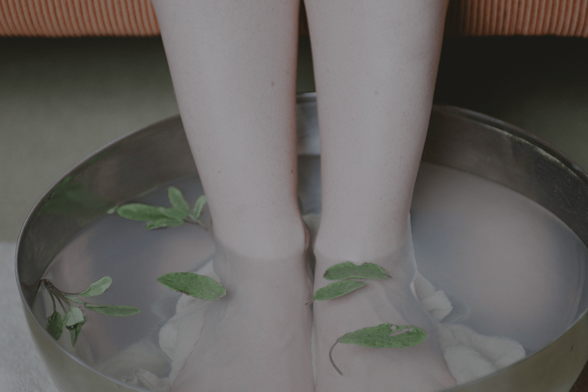 Herbs for the feet