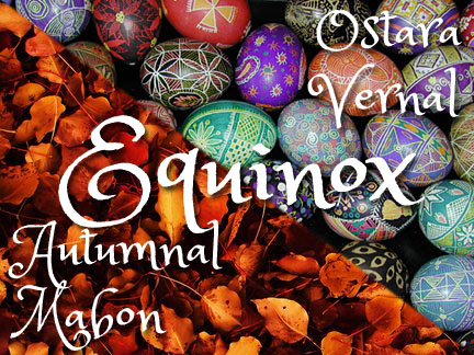 Have a Wonderful Equinox (if you celebrate it)