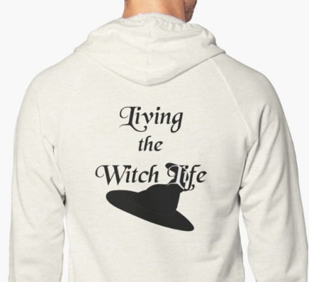 Living the witch life - hoodie