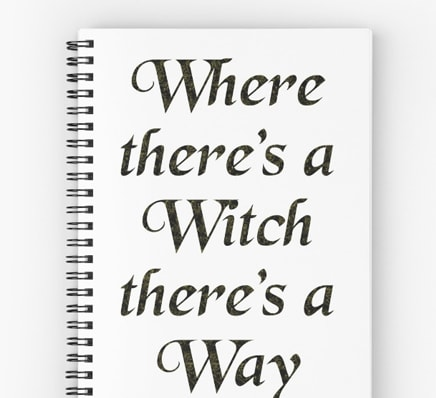 Where there's a witch there's a way - journal