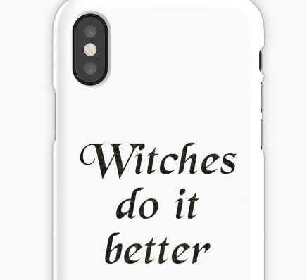 Witches do it better - iphone case