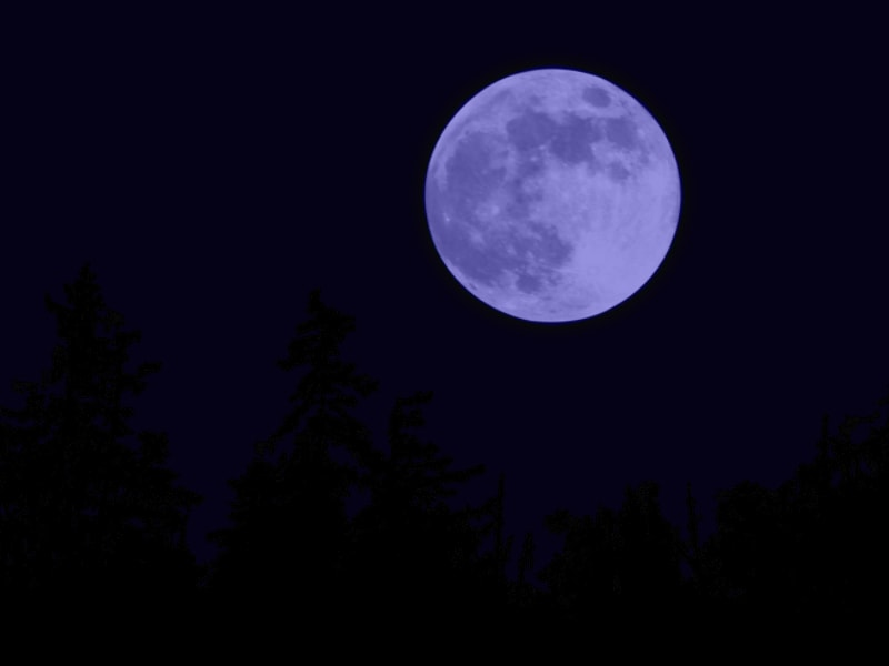 Don't say 'Once in a Blue Moon' because it's coming
