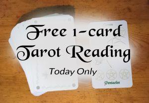 Free 1-card Tarot Reading