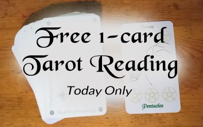 You Can Get a Free 1 Card Tarot Reading Today