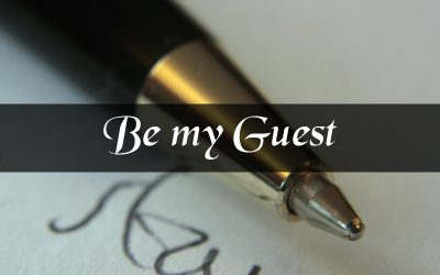 Do you want to be my guest on this blog?
