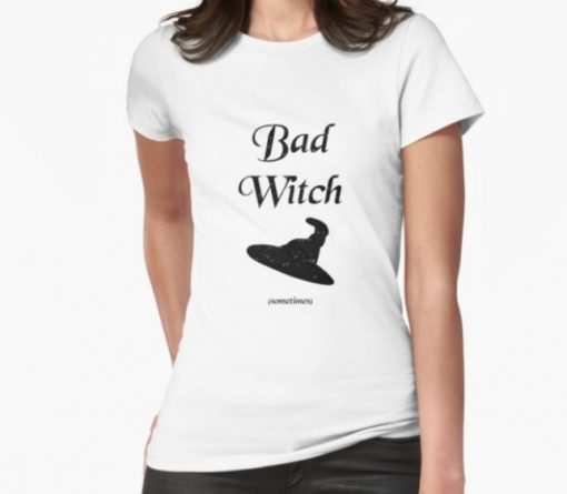 bad witch tshirt white