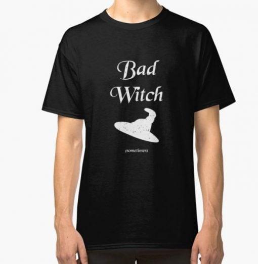 bad witch tshirt black