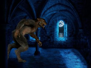 Werewolf by Artie_Navarre from Pixabay
