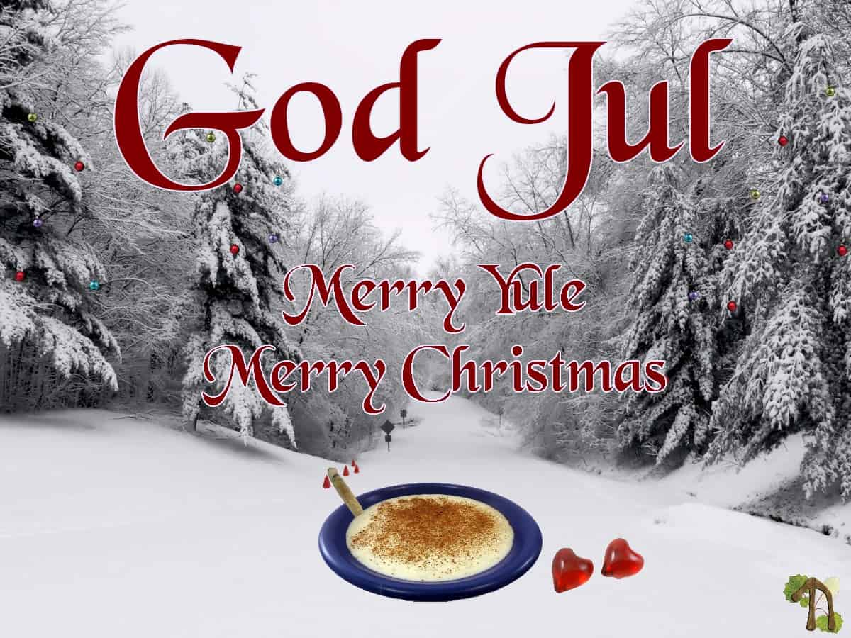 God Jul to all of you