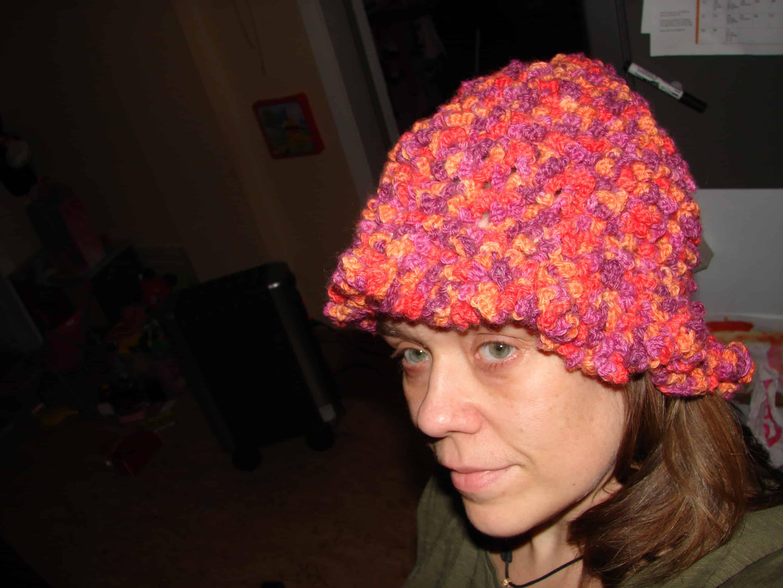 A Crochet Spiral Hat