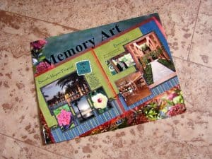 The postcard from Adrienne Scanlon