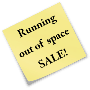 running-out-of-space-sale