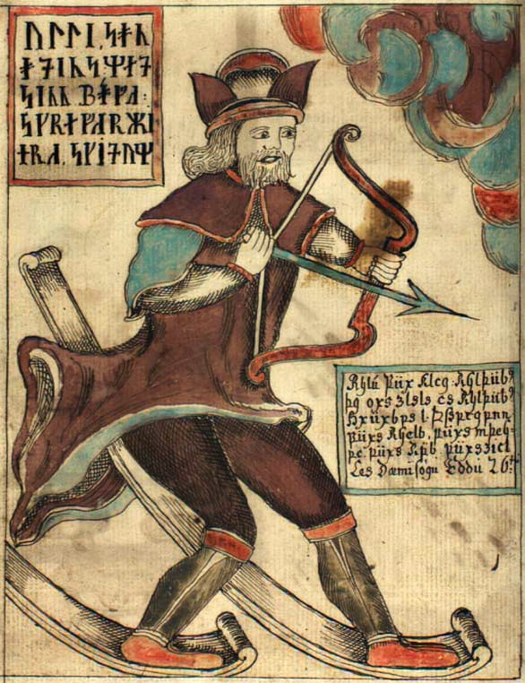 Ullr – the skiing archer