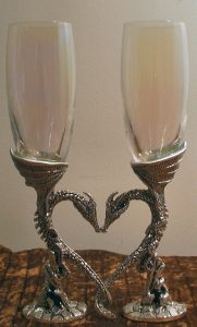 Two of Cups, Dragon Heart Glasses
