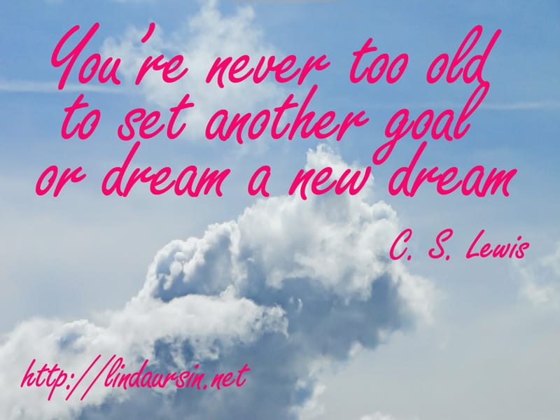 Have you set any goals for 2013?