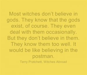 Quote the Witch - Most witches don't believe