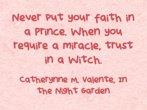 Quote the Witch - Never put your faith