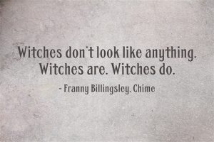 Witches don't look like