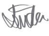 Linda, written by hand