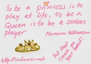 To be a princess - Sassy Sayings - https://lindaursin.net