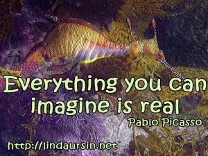 Everything you can imagine - Sassy Sayings - https://lindaursin.net